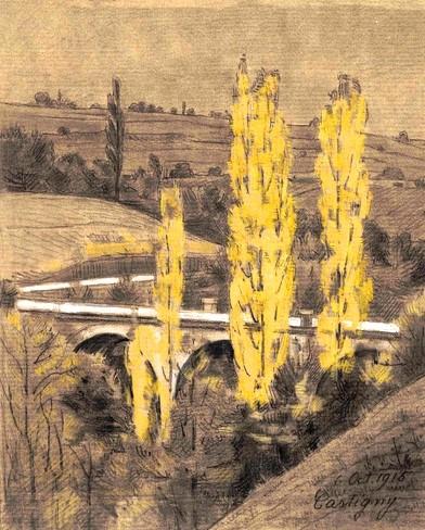 Le pont de Cartigny