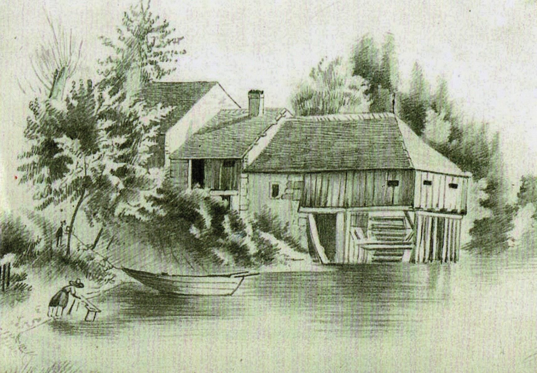 Le moulin Oltramare